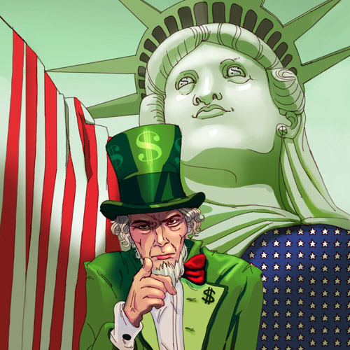 America: A Parasite On The World  us economy